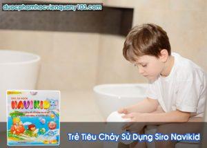 Trẻ Tiêu Chảy Sử Dụng Siro Navikid