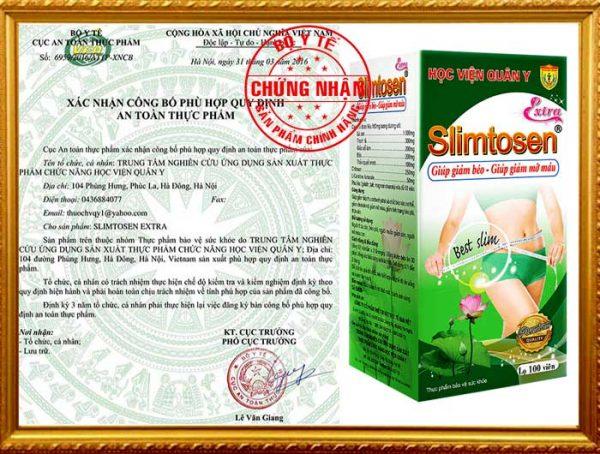 Chung Nhan Slimtosen Extra